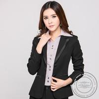 manufacter 100% cotton fashion neck design for ladies suit