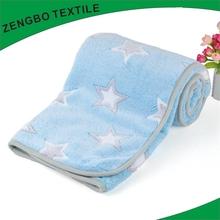 Most popular polar fleece blanket/coral fleece fabric made in shaoxing