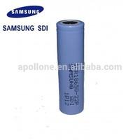 Genuine Samsuni icr18650 22p 2200mAh 3.7v lithium battery for cigarette
