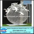 jardim metal cisne açoinoxidável escultura ao ar livre
