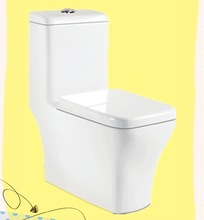 8058 cheap one piece toilet strong flushing power wc toilet sanitary
