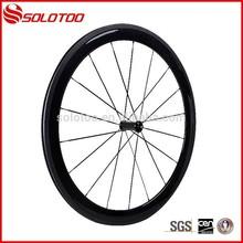 Bon profil roues cycle pour la route, hot vente chinois 50mm roues en carbone