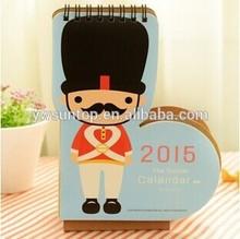 2014 desktop calendars soldiers modeling calendar very cheap