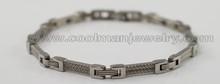 Hip Hop Stainless Steel Bracelets