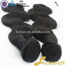 Factory Wholesale Dark Red Color Human Hair Weaving
