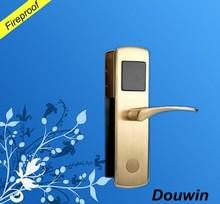 Children safety double latch network door lock
