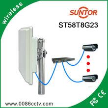waterproof 8km 5.8 ghz wireless audio video network equipment