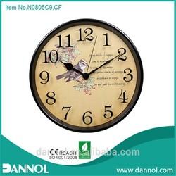 """12"""" metal wall clock/ajanta wall clock models/retro flip clock"""