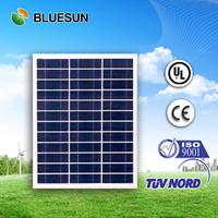 Bluesun high efficiency poly 50 watt small watt solar panel