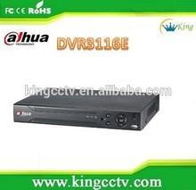 hotselling cheap 16CH dvr recorder h.264 dahua dvr DVR3116E security camera system