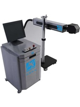 Online Flying End Pump Diode Laser Marking machine for parrots leg rings
