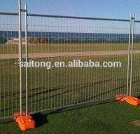 2014 useful galvanized temporary fence security