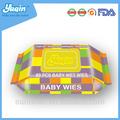de haute qualité pour bébé soins de la peau lingettes humides