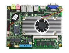 Mini pc board tablet motherboard with 2*1000M RJ45 port,6*USB 3.0,2*SATA;1*mSATA