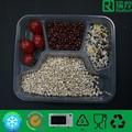 Fach lebensmittelverpackungen aus kunststoff behälter/unterteilt klar lunchpaket