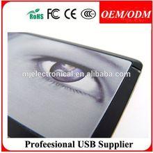Free sample,gift for UTV company,16gb plastic business card usb flash memory