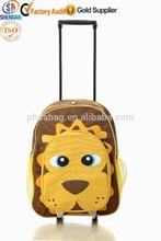 lovely little iron face boy school backpack trolley school backpack trolley bag