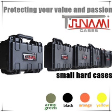 Commercial miniature transport case with handle for photography military