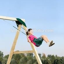 Hot Sale Green Playrgound Set Children's Garden Iron Swing