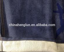300gsm 91%cotton 7%polyester 2%spandex indigo knitting denim from China