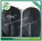 Promotion apparel non woven suit bag garment bag suit cover