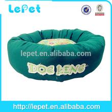 diy dog bed polka dots