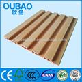 Fábrica de la venta de chips de madera + pvc + de carbonato de calcio de plástico wpc tablón de madera con el ce y sgsiso fsc