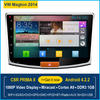 Pure Android 4.2 car stereo gps HD touch screen autoradio gps navi system for Volkswagen Magton