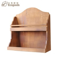 hot selling!! wooden hanger storage boxes for kitchen
