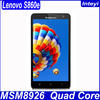 Lenovo S860e 4G Dual Quad-Core Mobile Telecommunications Standard Camera Phones, Qualcomm Snapdragon MSM8926 1.2GHz,Tablet