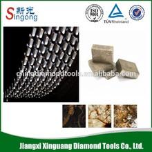 Sprocket diamond asphalt blade Segment for cutting
