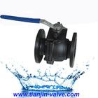 best price cf8m 3 way ball valve