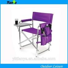 Outdoor Folding Chair Camping Fishing Portable Beach Chair Purple