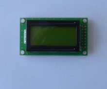 8 x 2 Pixels Character LCD display mono lcd Module with 27.81*11.50mm active area