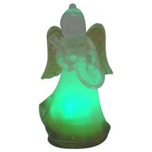 high quality acrylic holiday home decorative led light christmas angel
