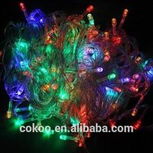 10M 100 LED Lights Decorative Christmas Party Festival Twinkle String Lights Bulb 220V EU christmas tree light