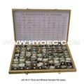 العينات المعدنية والصخور( 100 أنواع)-- j42.40.01