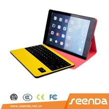 Leather case with keyboard for 9.7 inch tablet pc, leather case for ipad Air 2