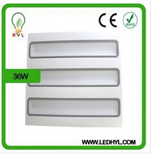 led lamp 36w AC100-265V 50/60Hz 600*600 high bright led grille down lightting rotatable and pivotable 2014