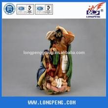 9.8 Inch Resin Christmas Holy Family Figurine