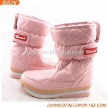 2015 Fasion cute cheap girls winter shoes/boots S027