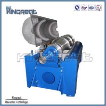 Modelo PDC Horizontal Industrial centrífuga tratamento de esgoto