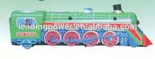model train / metal craft / wind up tin toy