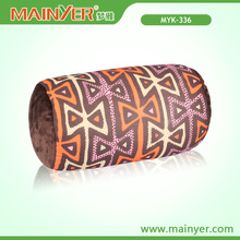 Newest Printed Tube Pillow/ Neck Pillow stuffed Soft micro beans
