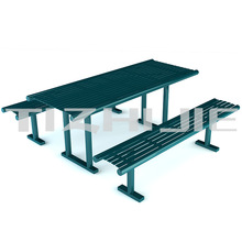 2014 economic design metal outdoor furniture bench seat