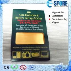 High Quality Anti Radiation Sticker With Scalar Energy Saver Chip Bio Energy Sticker