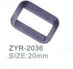 adjustable plastic ring plastic buckle