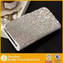 Hot!!! For iphone 6 luxury cover, glitter diamond leather case for iphone 6, luxury diamond mobile case 2014