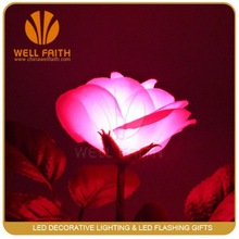 Wholesale 2014 new product artificial velvet rose flower for valentine,christmas,wedding