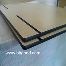 wholesale wood hpl table tops,countertop for school desk